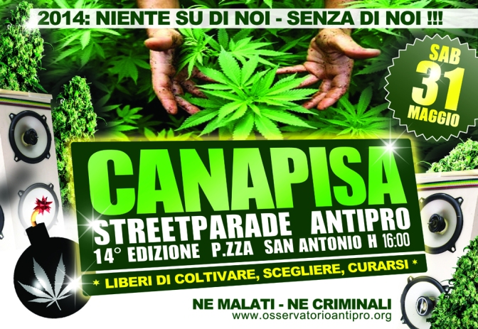 CANAPISA STREET PARADE: 31st May 2014