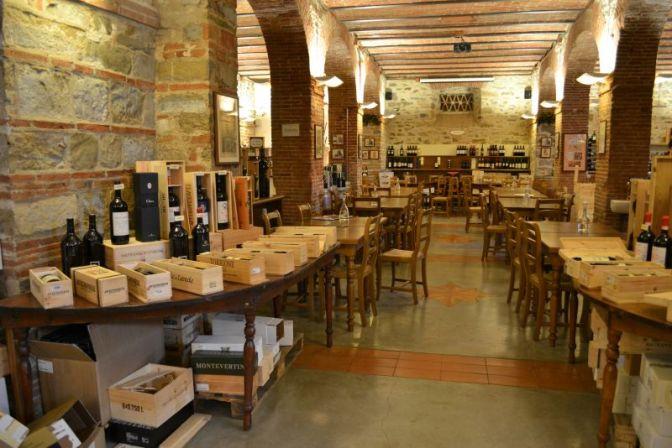 Greve in Chianti – Le Cantine di Greve in Chianti – Wine Tasting