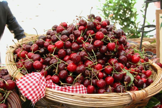 The Cherry Festival in Lari